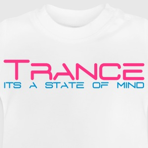 White Trance State of Mind Kids' Tops - Baby T-Shirt