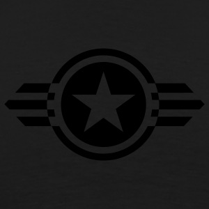Black star with wings deluxe Coats & Jackets - Men's Premium T-Shirt