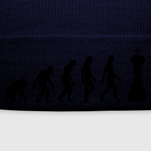 Blu scuro Evolution of Chess 1 (1c) Pullover - Cappellino invernale
