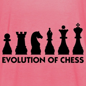 Evolution of Chess 2 (1c) Mochilas - Camiseta de tirantes mujer, de Bella