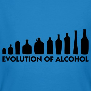 Peacock-blue Evolution of Alcohol 1 (1c) Bags  - Men's Organic T-shirt