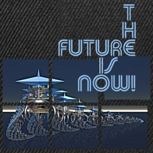 THE FUTURE IS NOW | Frauenshirt organic - Snapback Cap