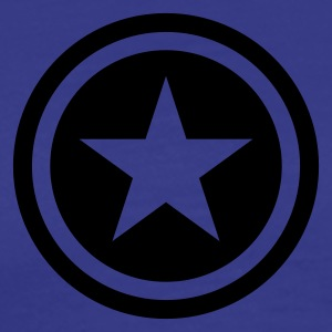 King's blue star single blackcircle Kids' Tops - Men's Premium T-Shirt