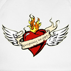 Burning Heart Kids Hoody - Baseballkappe