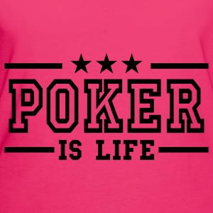 Jeans blue poker is life deluxe Bags  - Women's Organic T-shirt