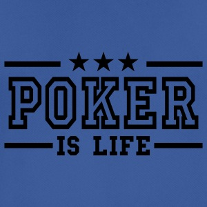 Royal blue poker is life deluxe Hoodies & Sweatshirts - Men's Breathable T-Shirt