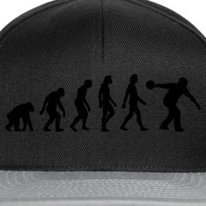 Zwart Evolution of Bowling (1c) Sweaters - Snapback cap