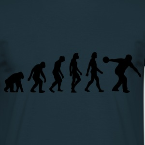 Marine Evolution of Bowling (1c) Tabliers - T-shirt Homme