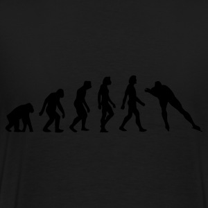 Noir Evolution of Skating (1c) Sweatshirts - T-shirt Premium Homme