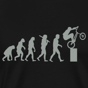 Bike Trial Evolution Pullover - Männer Premium T-Shirt