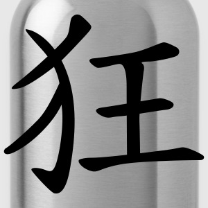 chinese_sign_crazy_1c Hoodies & Sweatshirts - Water Bottle