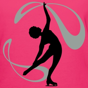 Figure Skating Bags  - Women's Organic T-shirt
