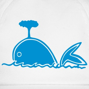 whale 1 Long sleeve shirts - Baseball Cap
