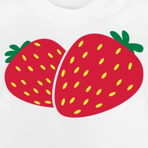 fraises Strawberry baies T-shirts Enfants - T-shirt Bébé