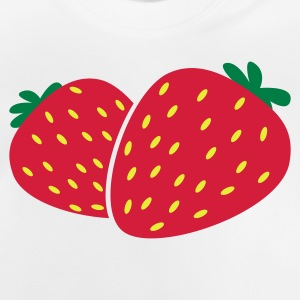 Strawberry strawberries berries Kids' Shirts - Baby T-Shirt