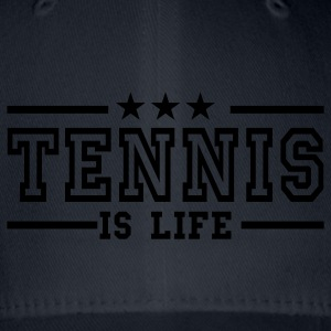 Navy tennis is life deluxe T-shirts - Flexfit baseballcap