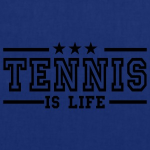 Marineblå tennis is life deluxe T-shirts - Mulepose