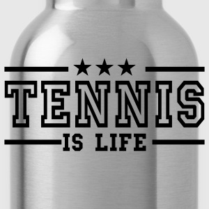 Navy tennis is life deluxe T-shirts - Drinkfles