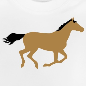 Horse Pony Riding Rider Kids' Tops - Baby T-Shirt
