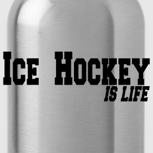 ice hockey is life Czapki  - Bidon