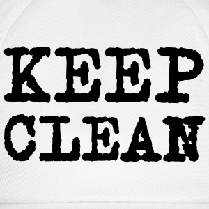 Keep clean © T-Shirts - Baseballkappe