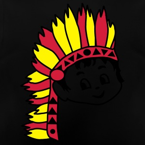 Retro kid billy Indian Chief Kids' Tops - Baby T-Shirt