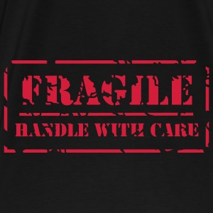 Retrotasche Handle with care - Männer Premium T-Shirt