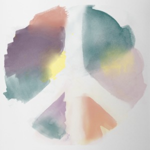 Water Color Peace Aquarell Kinder T-Shirts - Tasse