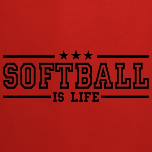 softball is life deluxe Torby - Fartuch kuchenny