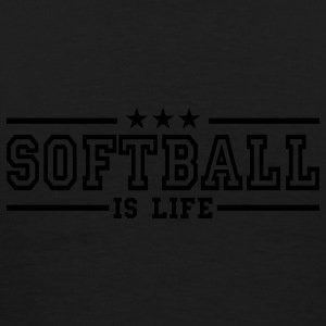 softball is life deluxe Jacks - Mannen Premium T-shirt