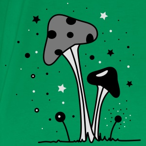 Magic mushrooms  Aprons - Men's Premium T-Shirt