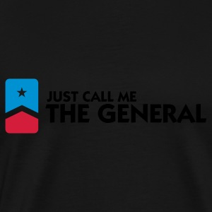Call Me The General (3c) Sweaters - Mannen Premium T-shirt