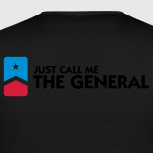 Call Me The General (3c) Pullover - Männer Premium T-Shirt