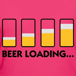 Beer Loading (3c) Bags  - Women's Organic T-shirt