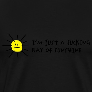 I'm a fucking ray of sunshine (2c) Sweaters - Mannen Premium T-shirt