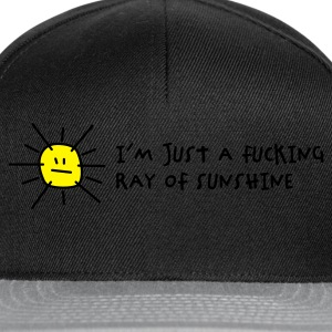 I'm a fucking ray of sunshine (2c) Hoodies & Sweatshirts - Snapback Cap