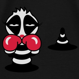 Martial Arts caterpillar with boxing gloves Bags  - Men's Premium T-Shirt