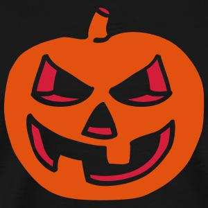 halloween_pumpkin_2c_black Tabliers - T-shirt Premium Homme