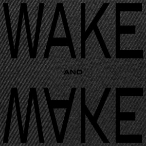 wake and make Gensere - Snapback-caps