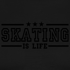 skating is life deluxe  Aprons - Men's Premium T-Shirt