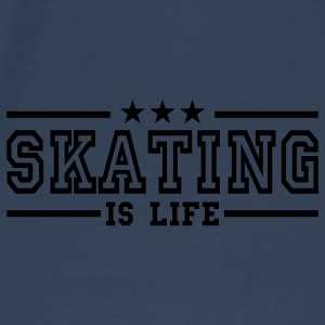 skating is life deluxe Bags  - Men's Premium T-Shirt