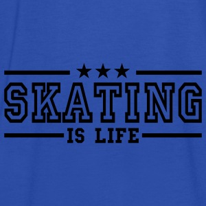 skating is life deluxe Bags  - Women's Tank Top by Bella