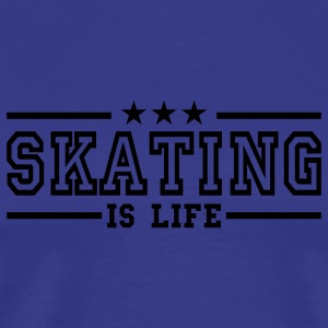 skating is life deluxe Kids' Tops - Men's Premium T-Shirt