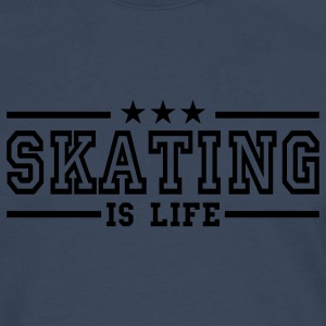 skating is life deluxe Kids' Tops - Men's Premium Longsleeve Shirt