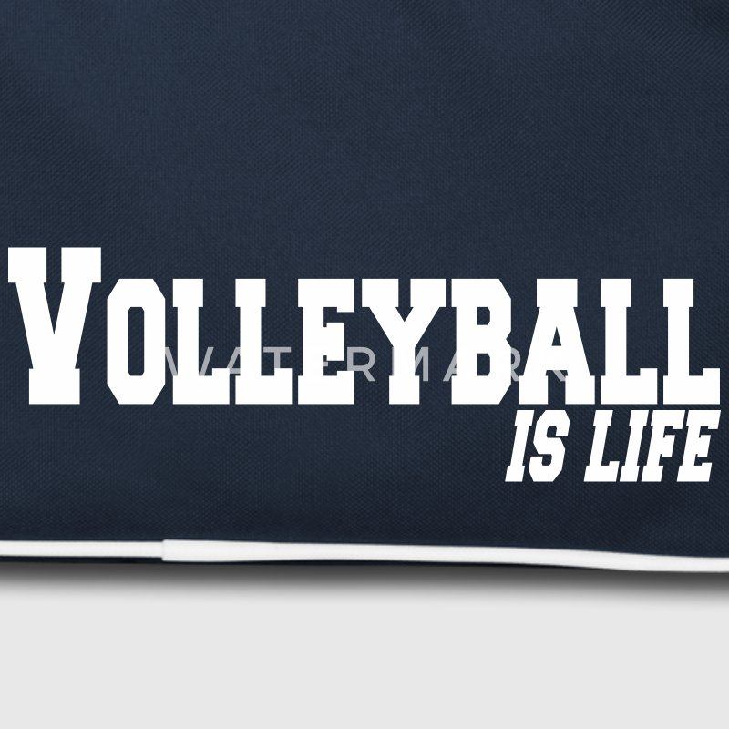 volleyball is life Tassen - Retro-tas