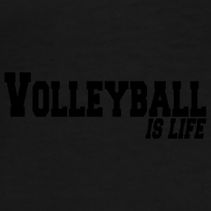 volleyball is life Ropa interior - Camiseta premium hombre