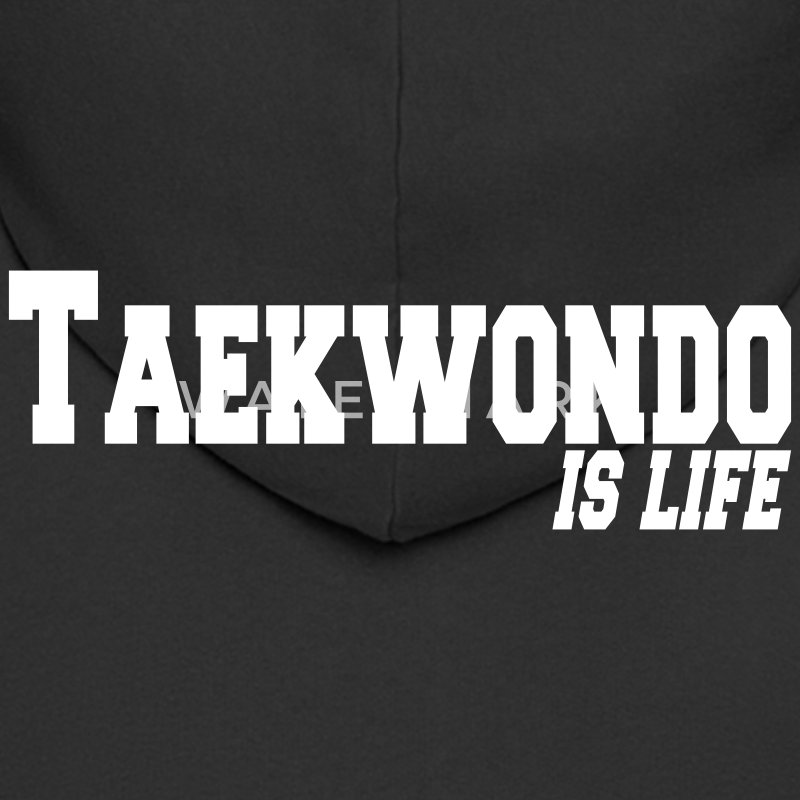 taekwondo is life Coats & Jackets - Men's Premium Hooded Jacket