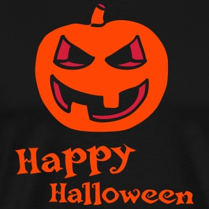 halloween_pumpkin_2c_happy_halloween_bla Tabliers - T-shirt Premium Homme