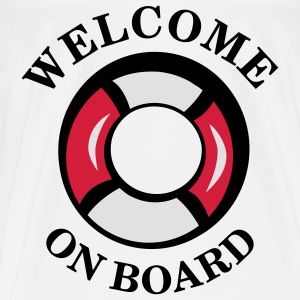 welcome_on_board Baby Body - Männer Premium T-Shirt