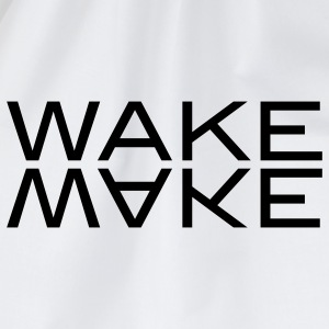 wake make T-shirts - Gymnastikpåse
